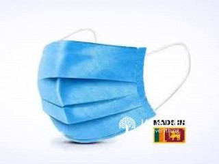 High Quality 3 Ply Face Masks - Made in Sri Lanka