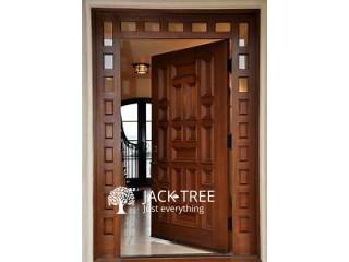 Kempas Thulan Wood Main Door Frame