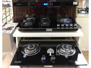 4 & 5 Burner gas cooker