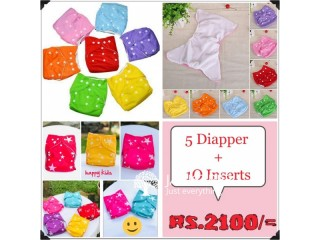 Super quality washable cloth diapers