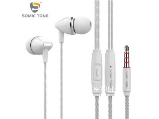 Powerful bass Somic Tone X-10 stereo earphones