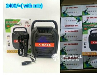 Karoke Bluetooth speaker with mic