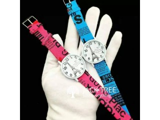 Woman 's Printed strap Watch Eiffel Tower Print Leather Strap Women Watches - p
