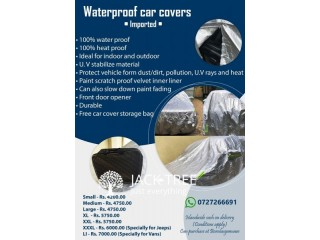 100% waterproof car covers