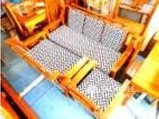 Sofa Set 321-Teak-SSTT00120