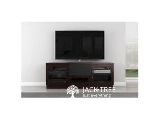 Neuro Glass Tv Stand W//setup Cupboard