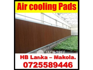 Air cooling pads systems   for green house srilanka  , air cooling systems srilanka, air  cooling pads srilanka