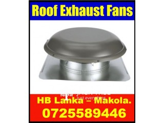 Roof exhaust fans price  srilanka, exhaust fans, roof extractors, ventilation systems srilanka