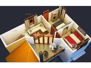 House Plan 3 D Boq Construction