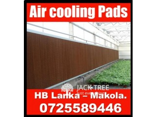 Evaporative air cooling pads systems  for greenhouse srilanka  , air cooling systems srilanka, air  cooling pads srilanka