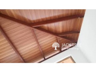 Ceiling Wood Finished Works