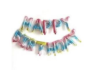 13 PCS SET Letters Happy Birthday Foil Baloons