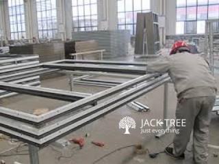 Aluminium Doors Making