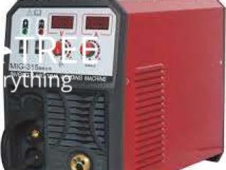 Shenyuan Gasless Dc Inverter Mig-Mma Welder Welding Plant 315 A