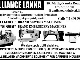 8500-Single Needle Sewing Machine
