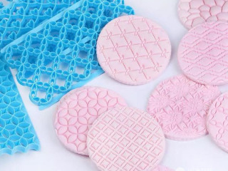 Fondant Art Embossing Cutter