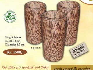 Coconut wood mug