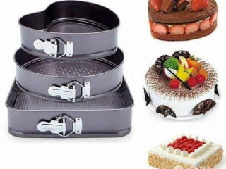 3 pieces cake pan set