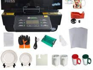 Full Kit Mug Sublimation Heat Press Epson Machine Vinyl T Shirt