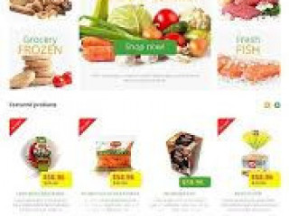 Web Site for Online Supermarket