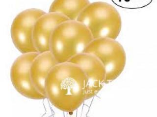 Standard Matt Balloons 10pcs Yellow