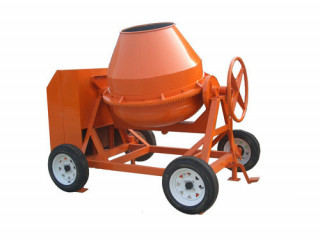 Concrete Mixture With Motor
