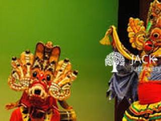 Traditional Mask Dancing Chandradhipathi ART