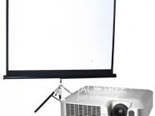 Projector & sound for rent