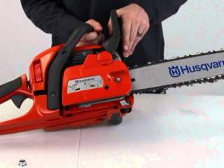 "Heavy duty TOPSUN PRO TCS 6200 24"" Petrol Chainsaw Chain Saw Machine"
