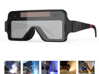 Solar auto dark darkening welding goggle goggles shield arc tig mig