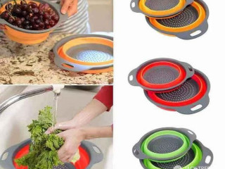 FOLDABLE SILICONE DRAINER