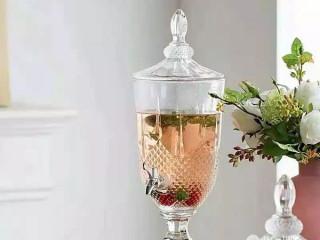Crystal Embllished  Glass Juice