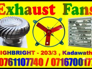 Exhaust fans srilanka ,turbine ventilators , air ventilation system srilanka,