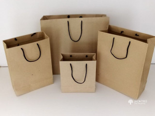 Paper Bags With Logo or Full Colour Printing