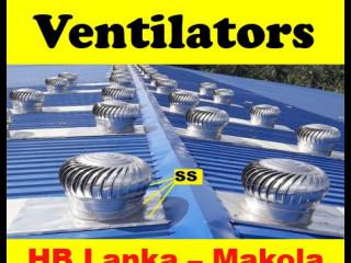 Turbine ventilator sri lanka , turbine roof fans sri lanka ventilation system suppliers srilanka,