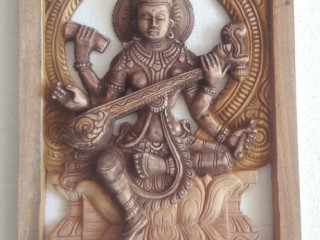 Abisheka woodcarving