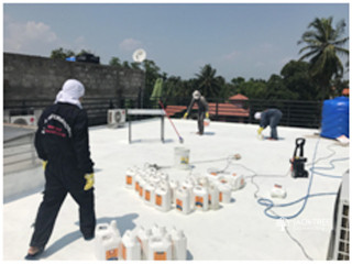 POLYMER MODIFIED CEMENTITIOUS WATERPROOF COATINGS