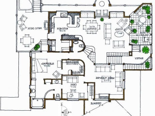 House plan drawings and printing