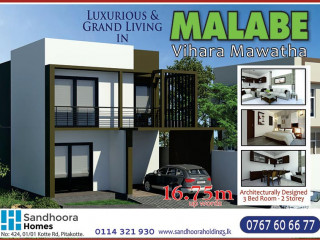 Luxurious & Grand Living in Malabe Vihara Mawatha