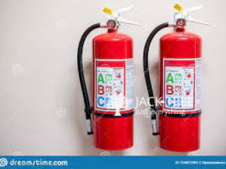 Fire extinguishers and fire extinguishing systems