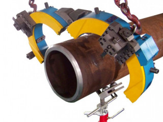 Pneumatic pipe cutting machines Hydraulic