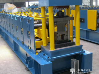 C Purling Forming Machine with Hole Punching