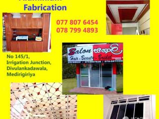 Lakshitha Aluminium Fabrication -  Aluminium Partition Work.