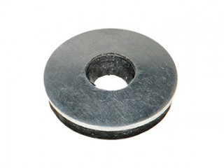 Steel washer with EPDM