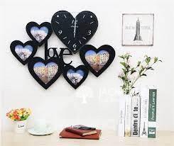 diy-wall-clock-module-heart-design-black-big-0