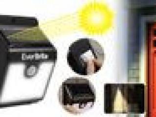 PIR,CDS Sensor Solar Power LED Wall Light