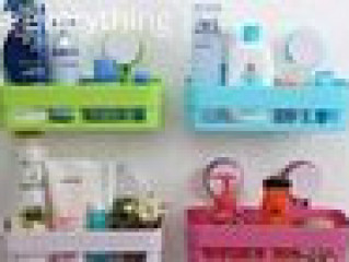 Multipurpose Bathroom Shelf