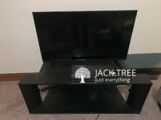 Used DVD player TV and TV stand