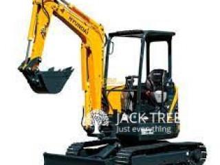 Excavator for Rent in Sri Lanka